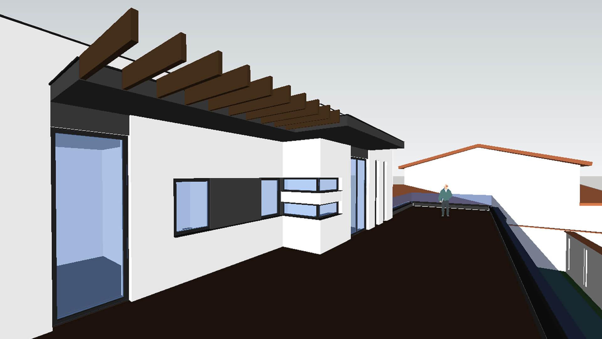 model 3d casa